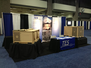 TES exhibits at the 2013 AUSA Annual Exposition in Washington, DC.